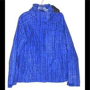 Columbia Interchange Womans Winter Coat XL blue